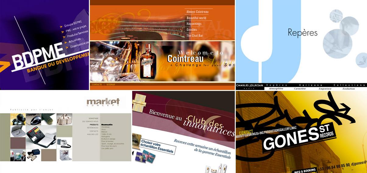 Banque des PME - Groupe Cointreau - Charles jourdan - Market concept - Pantene - Gone the DJ
