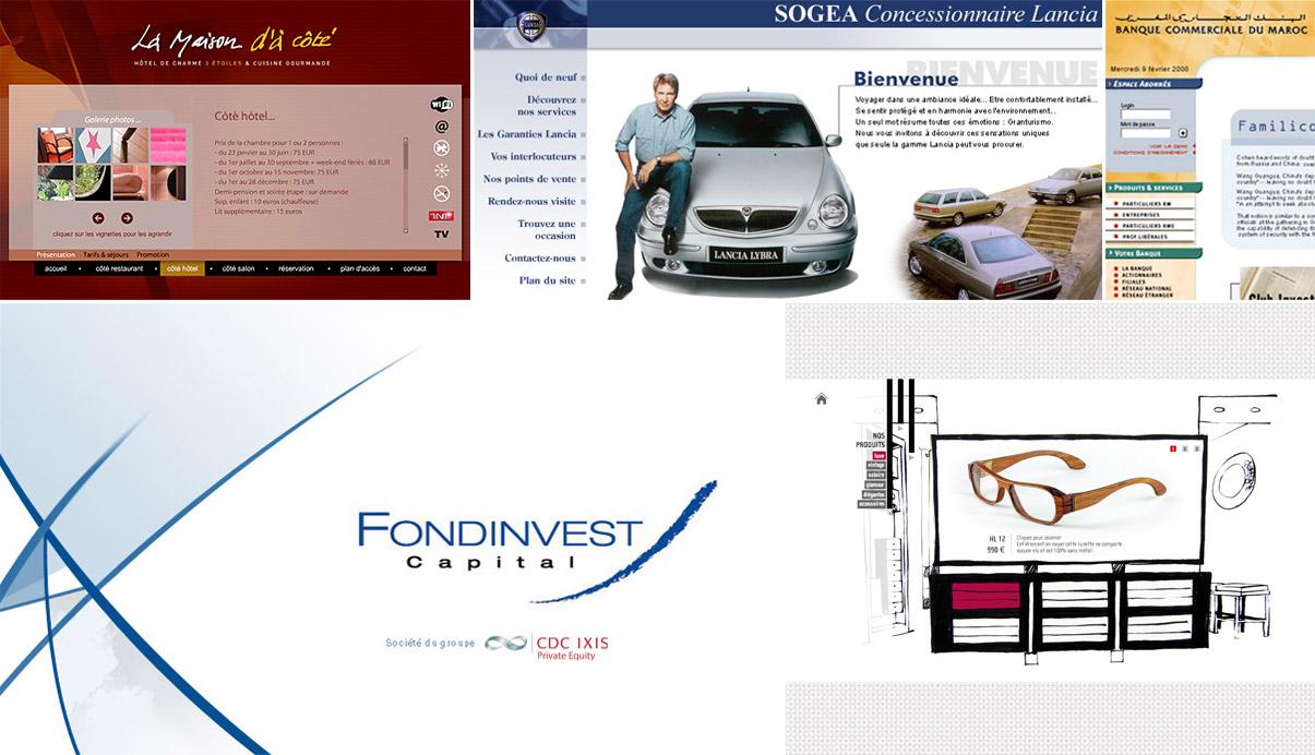 La Maison d'à côté - Sogea Lancia - Alfa - Fiat - Banque commerciale du Maroc - Fondinvest - SMJP diffusion