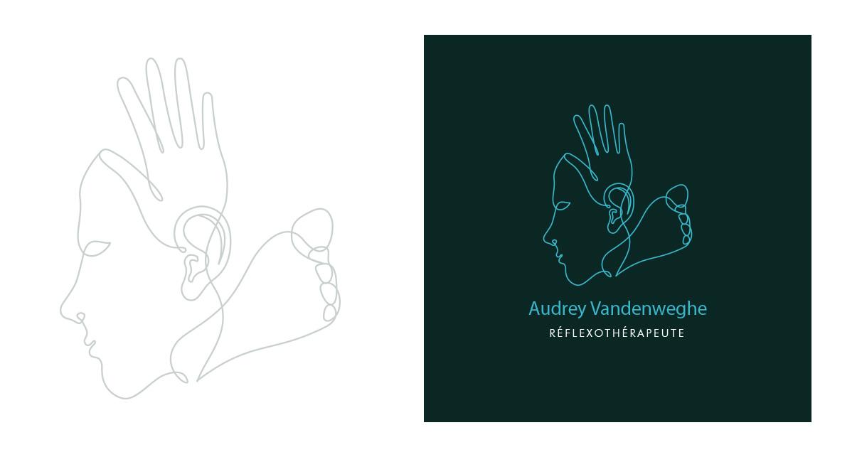 Logo - Audrey Vandenweghe - Reflexothérapeute - Rabastens © www.ovarma.com