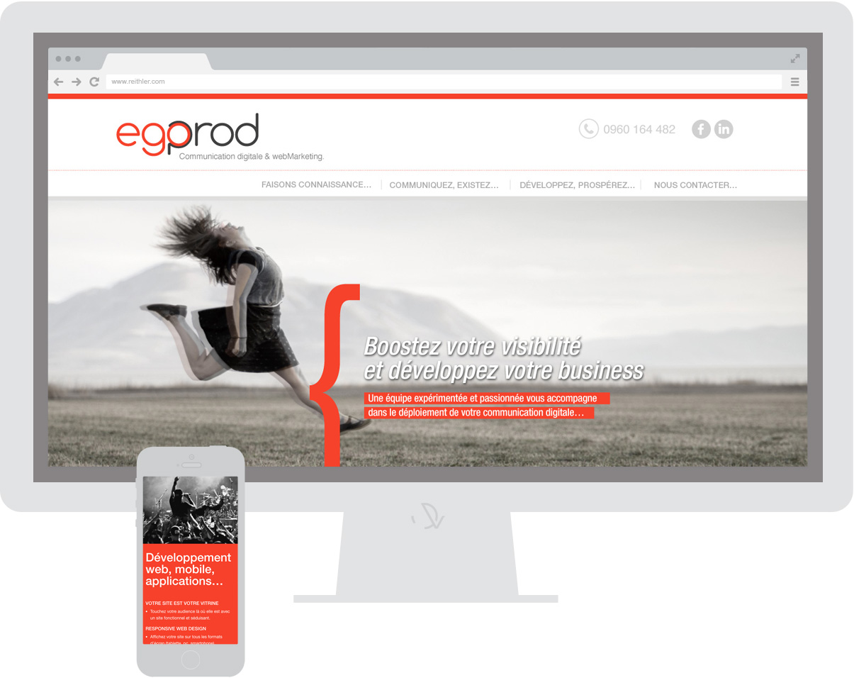 Egoprod - Site internet - homepage - © ovarma.com