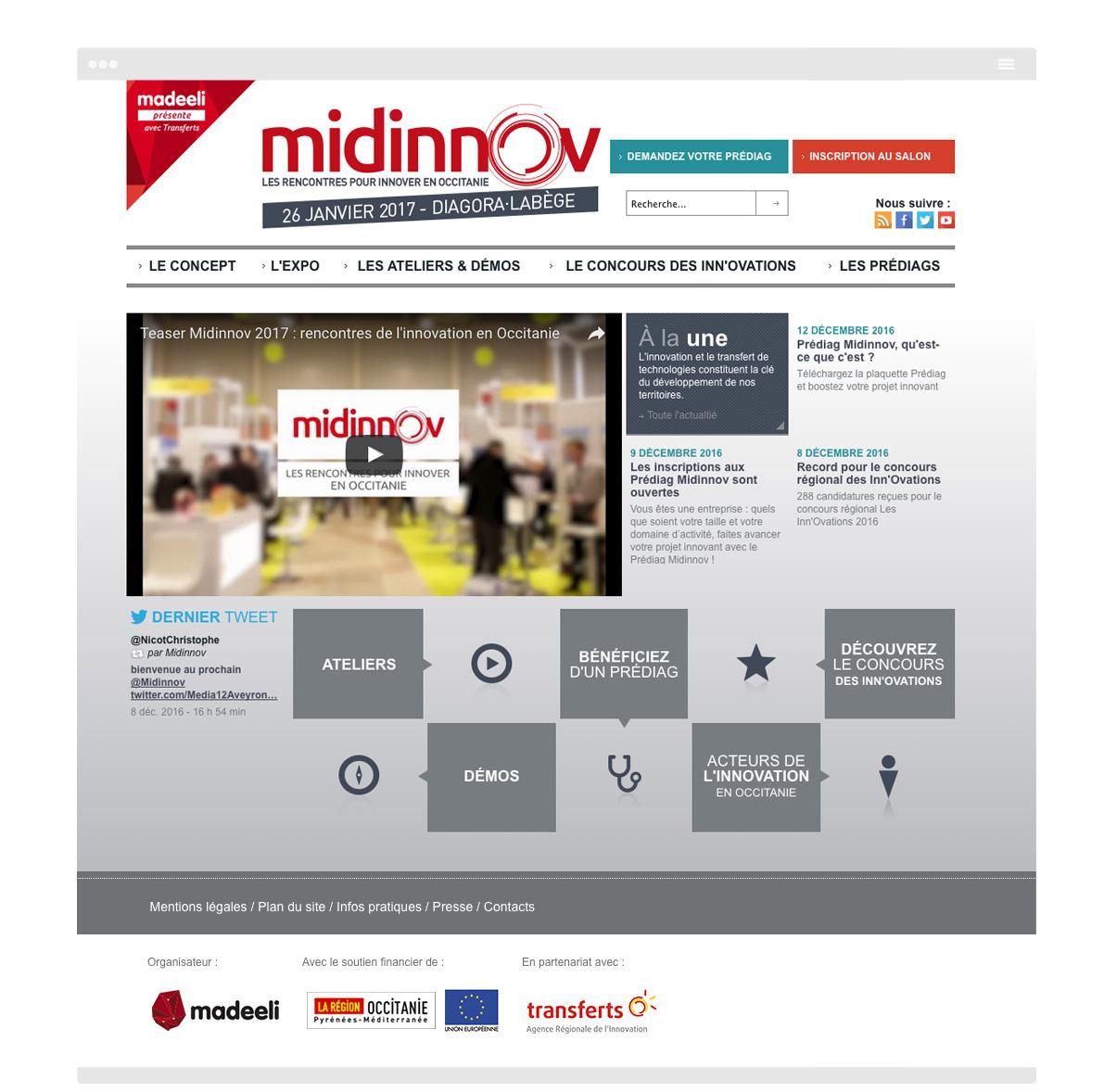 Midinnov - Homepage