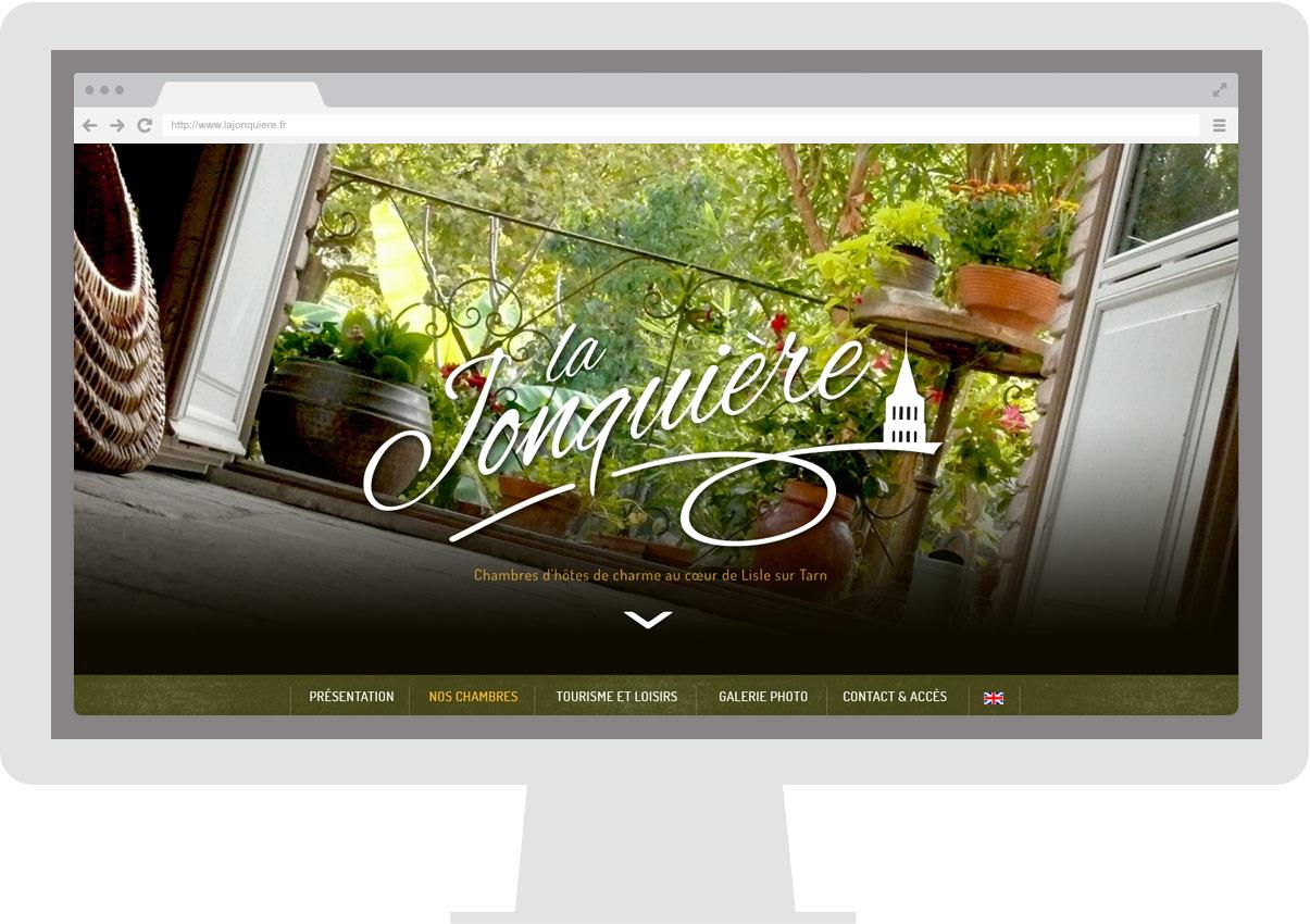 La Jonquière site internet - Chambres d'hôtes tarn - Tourisme - Homepage - © ovarma.com