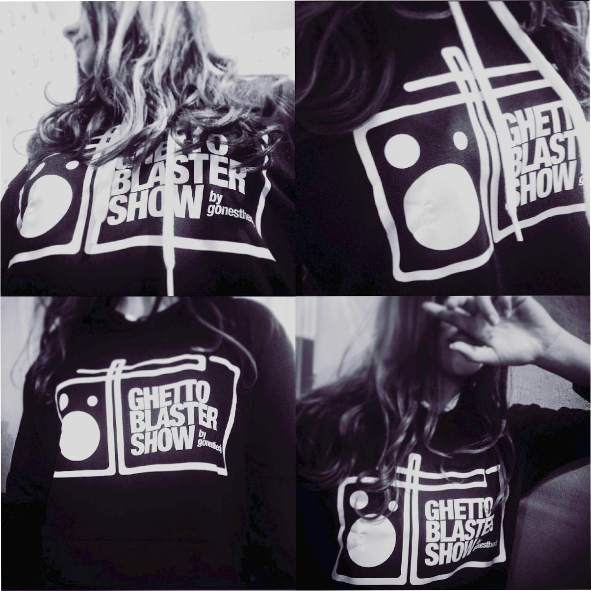 Ghetto Blaster Show logo Sweatshirt - © Olivier Varma