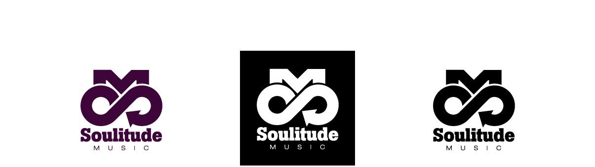 Soulitude Music - Logotype - détails - Direction artistique - Création - Design graphique - Toulouse - © ovarma creative studio