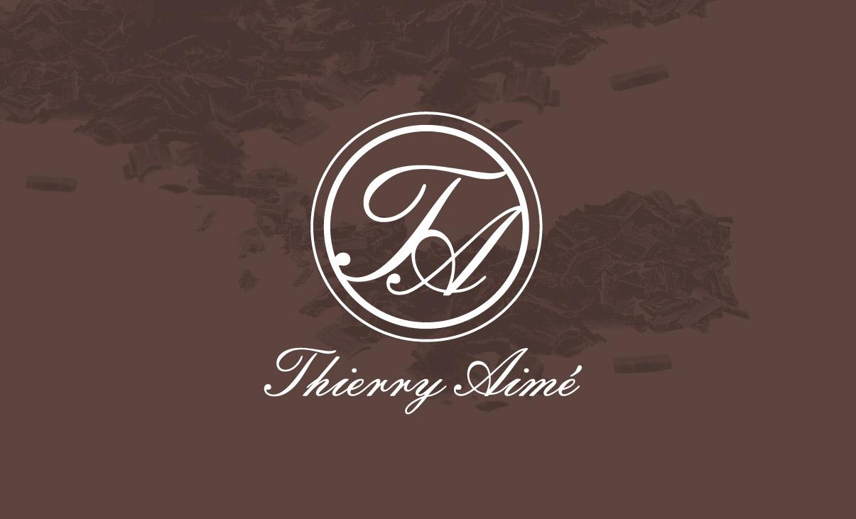 Graphic design, logotype, big, chocolat, Thierry Aimé