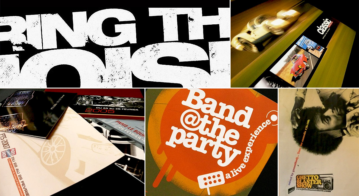 Bring the noise - Classic @ racing - Paris Tuning +Show - Band at the party - Ghettoblastershow