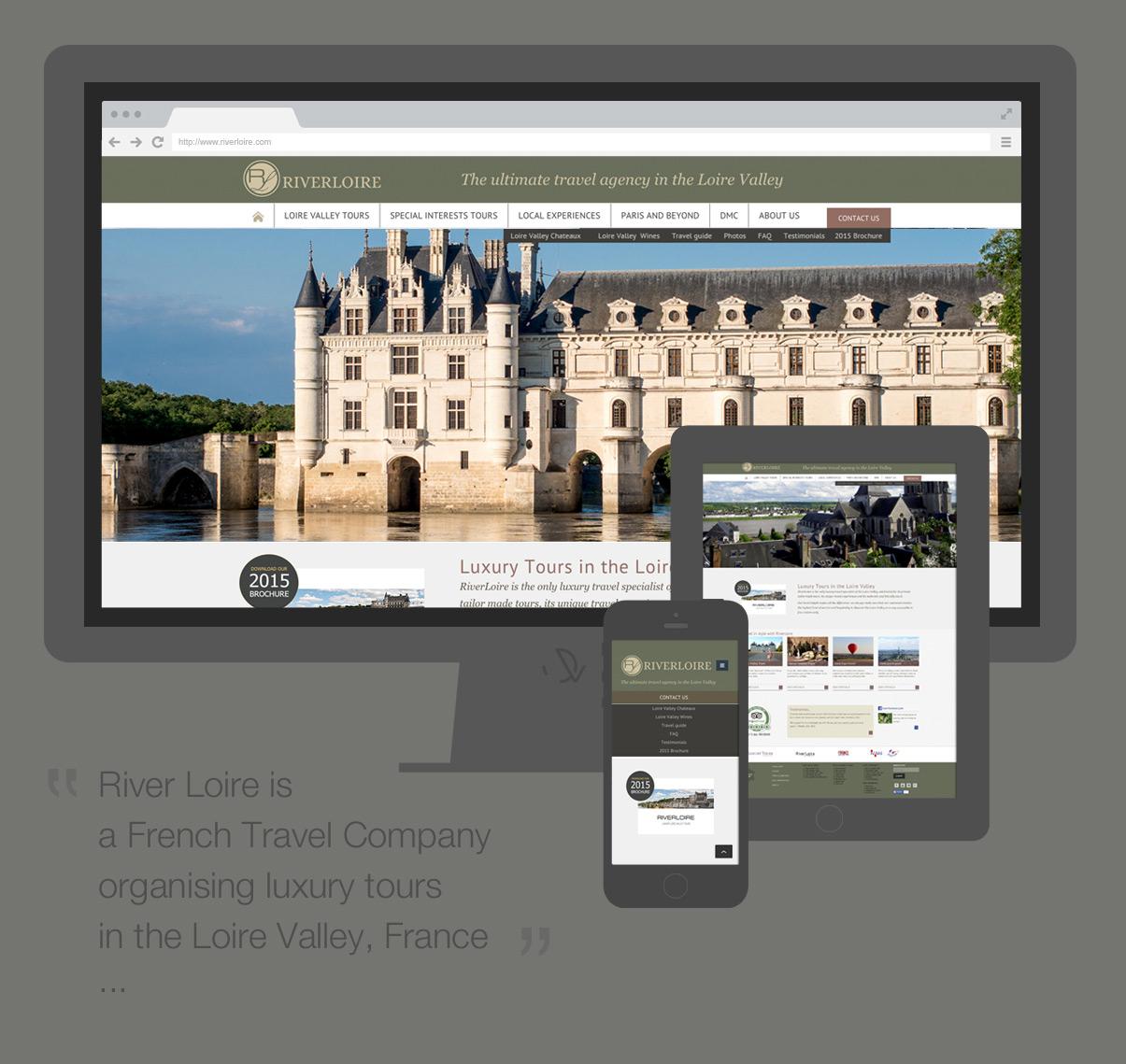 Riverloire - Homepage - Mobiles - Tourisme - Val de Loire © ovarma.com