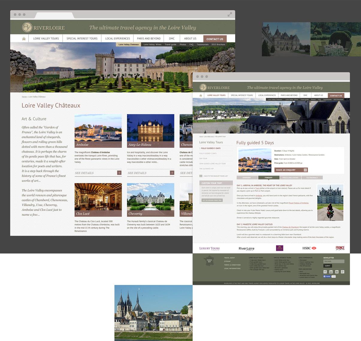 Riverloire - Pages intérieures - Tourisme - Val de Loire © ovarma.com