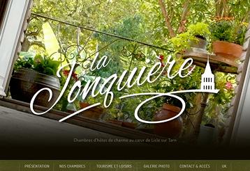 La Jonquière - Site internet - Tourisme - Tarn - Chambres d'hôtes - Gites de charme - Sud-Ouest - Toulouse