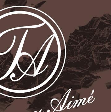Graphic design, logotype, chocolatier, Thierry Aimé - Toulouse - Lavaur - Tarn - © www.ovarma.com