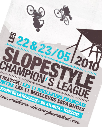 Projet, print, D.A, design graphique, affiche, sports extrêmes, association, VTT, BMX, riding, jam, © Olivier Varma - www.ovarma.com