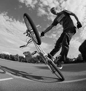 Olivier Varma - Spin Rats - Old school - bmx freestyle, flatland, Lawn mower